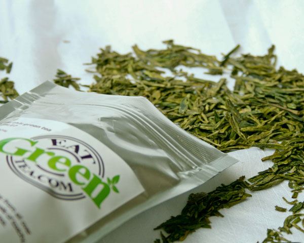 Edible Green Tea Whole Leaves