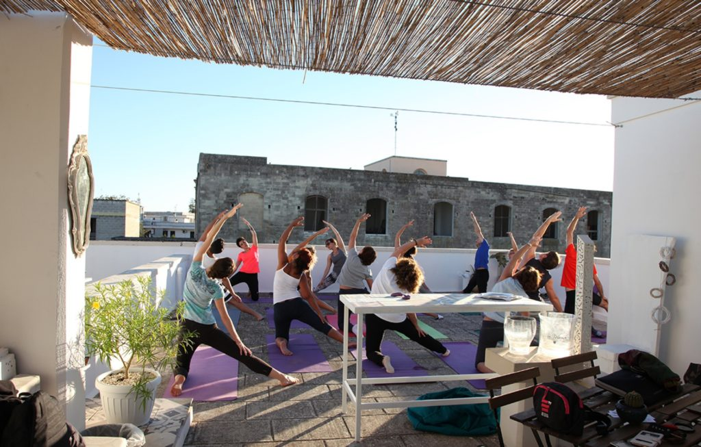 yoga in italy