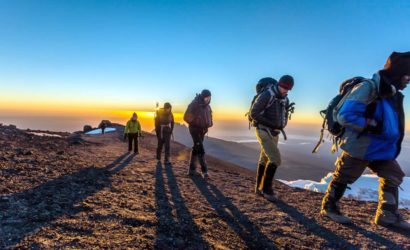 hiking on mount kilimanjaro