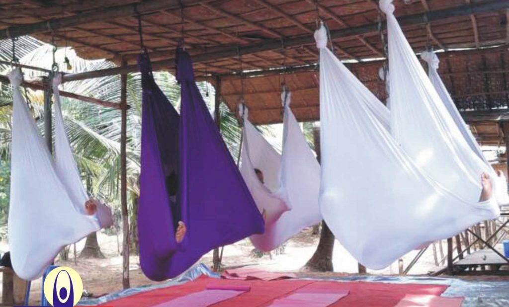 hammock yoga classes