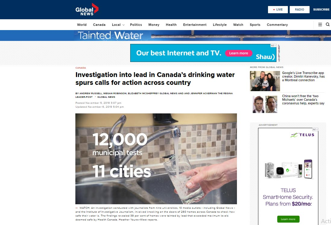canadian-news-tainted-water