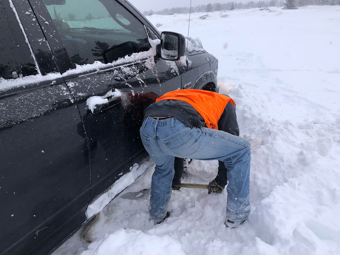 How to get your vehicle unstuck from snow