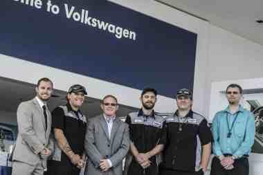 Volkswagen master technician