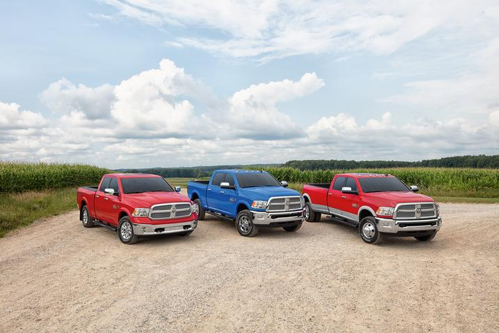 Match Your Tractor Color With New RAM Trucks Harvest Edition.