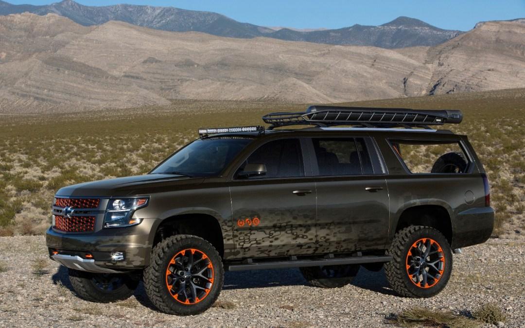 Chevrolet & Luke Bryan Design a Huntin', Fishin', Suburban