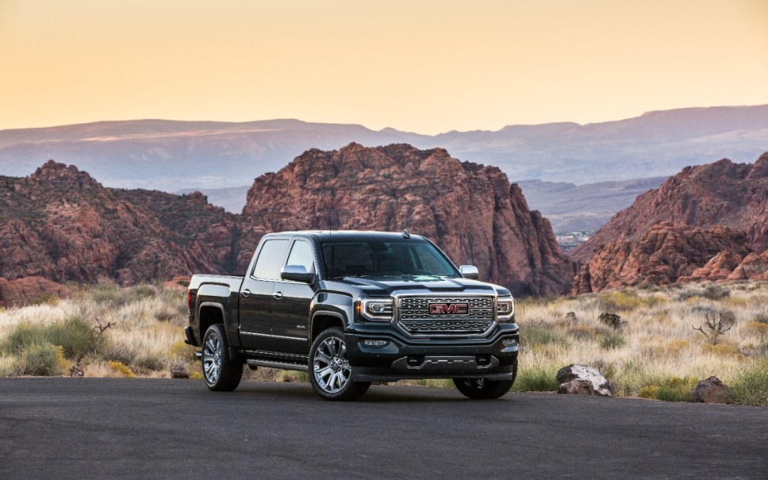 GMC Sierra What's New for 2018