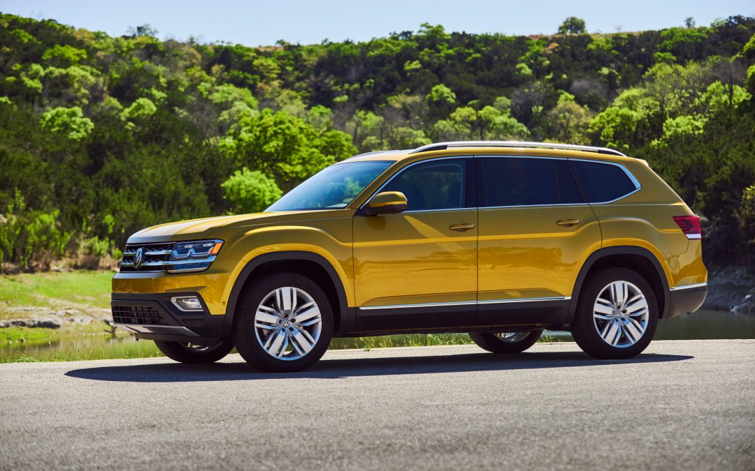 VW Atlas Wins (Cars.com) Best 2017 3-Row SUV Challenge