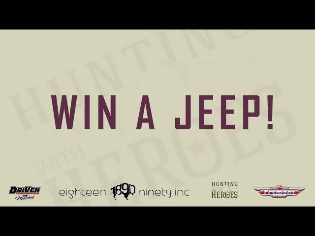 WIN a Jeep Wrangler Rubicon with 1890 Craft and Apparel WY [Video]