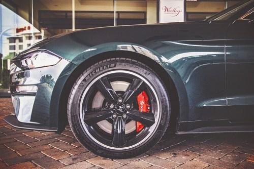 Mustang bullitt wheel