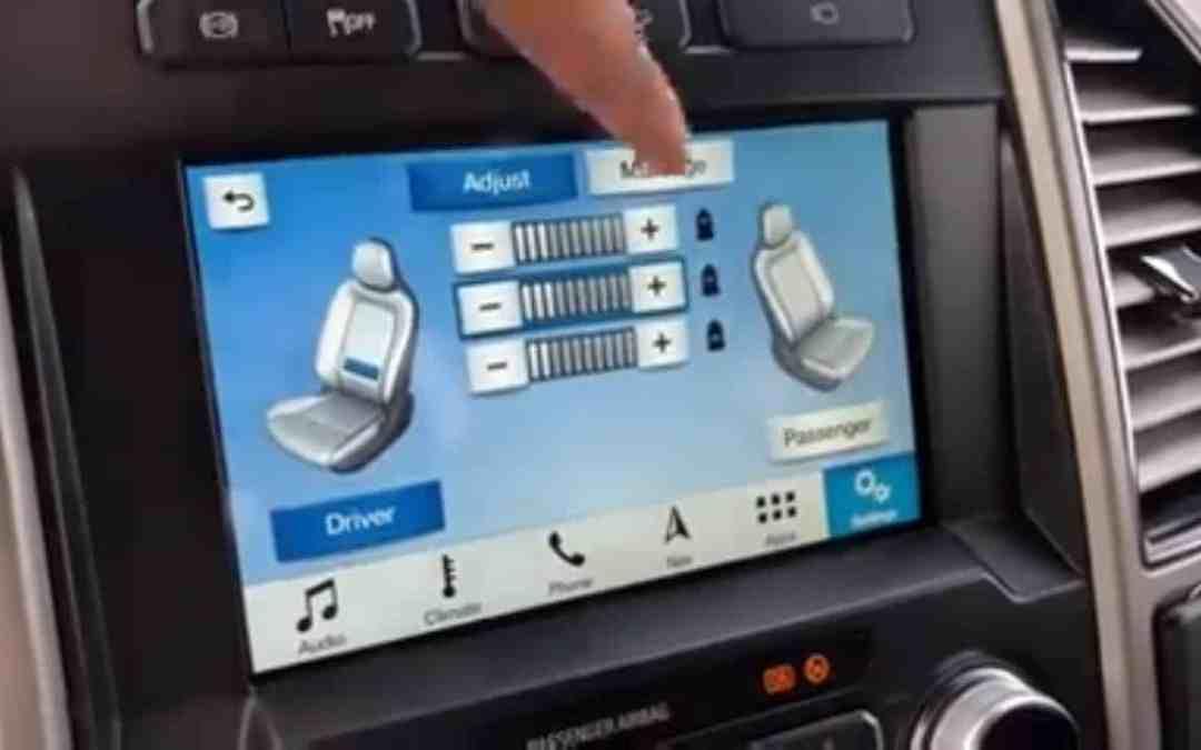 Ford Multicontour Massage Seats [Video]