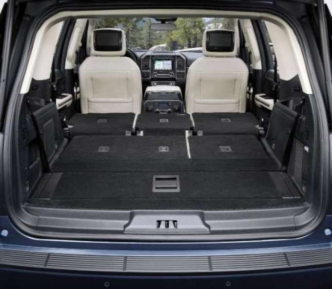 2019 Ford Expedition interior area at rear seats down