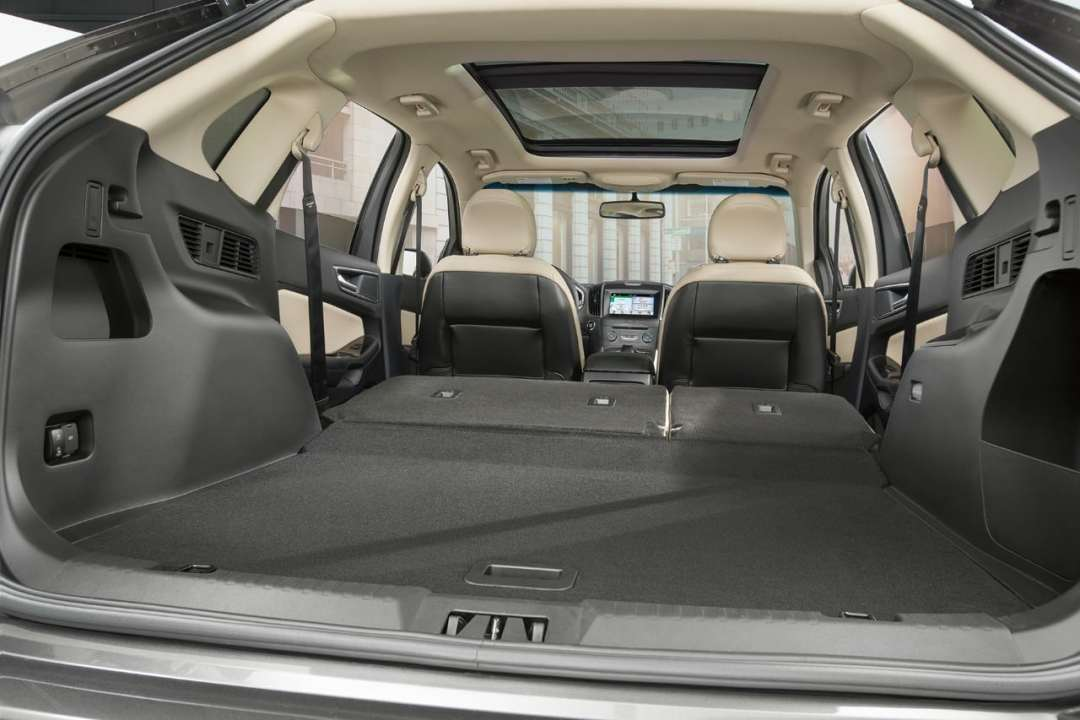 2018 Ford Edge Cargo Space