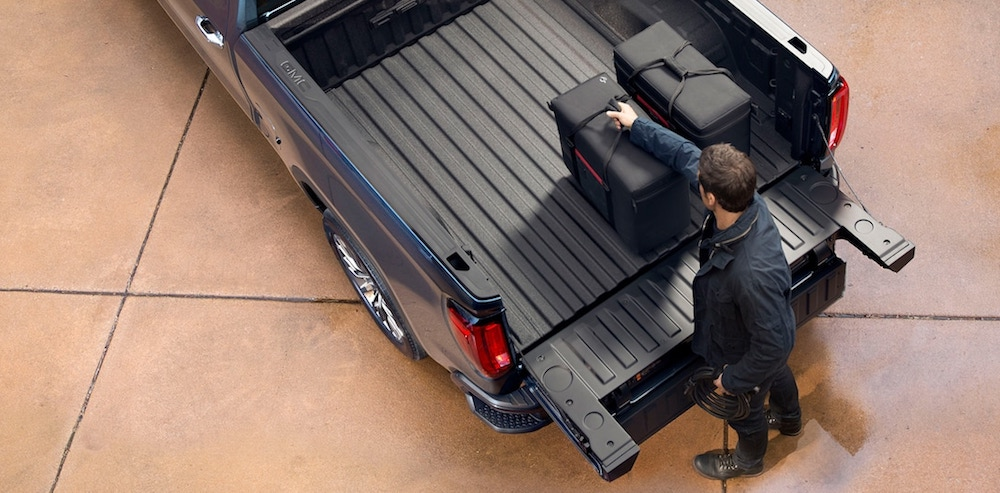 GMC Multipro Tailgate Easy Access