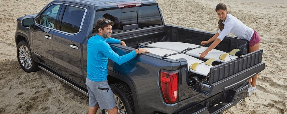 GMC Multipro Tailgate Load Stop