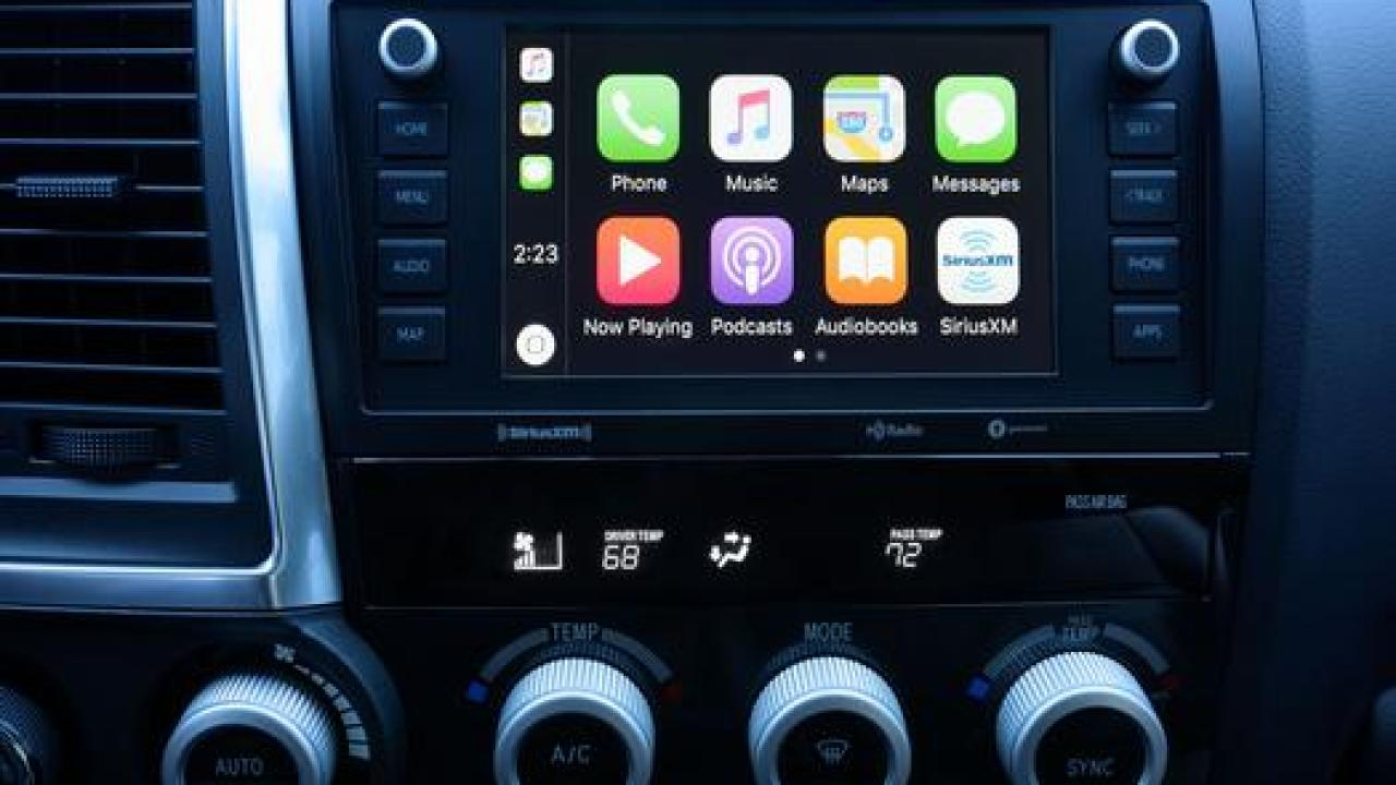 Which Toyota's Have Apple CarPlay & Android Auto