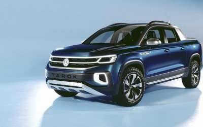 VW Pickup Truck (Tarok) at NYIAS to Gauge Interest