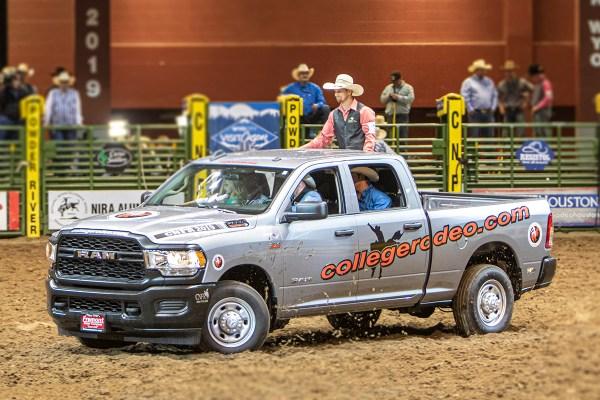 2019 Nira College Rodeo Ram Truck Winner Is
