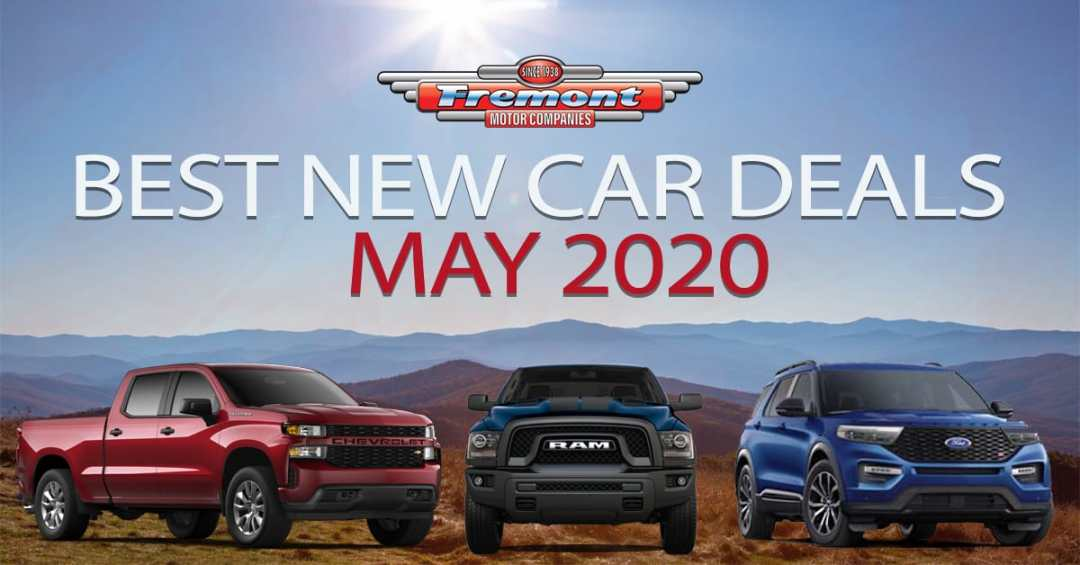 New Car Deals For May 2020 Trusted Auto Professionals