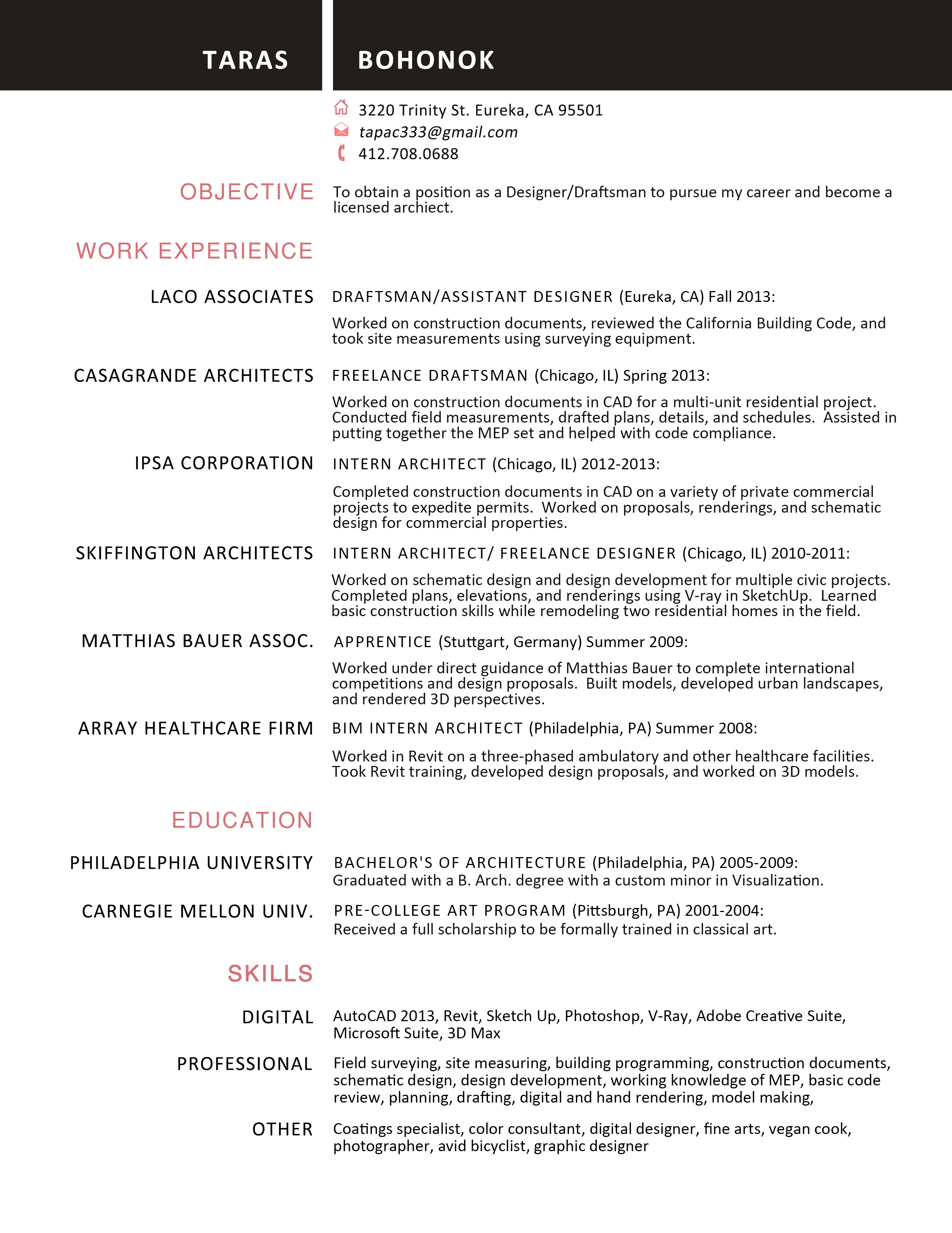 Word Resume Template 2014 Resume B L O G