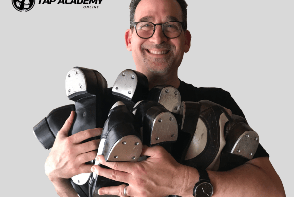 hugging the best tap dance shoes