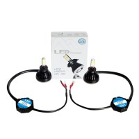 LED H3 40W με CANBUS - KIT Αυτοκινήτου 12/24V - 6000K