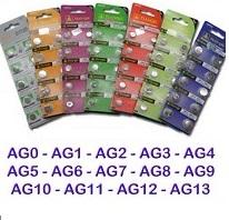 Αλκαλικές μπαταρίες AG (1.55V) - T&E