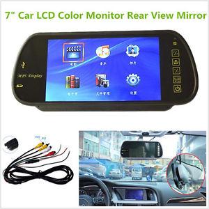 """Καθρέπτης - οθόνη οπισθοπορείας 7"""" με MP5 player - Rear View TFT-LCD Mirror Monitor"""