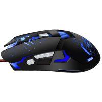 Το Weibo S10 Gaming Mouse Optical - Black ποντίκι παιχνιδιών Μαύρο είναι ένα εργονομικό ποντίκι. Χρειάζεστε μια εύκολη και προσιτή λύση για gaming mouse