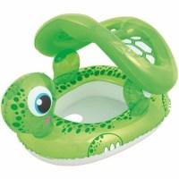 Φουσκωτό βαρκάκι χελωνάκι με τέντα για παιδιά μέχρι 2 ετών - Bestway 34094 -1157