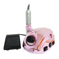 Τροχός μανικιούρ-πεντικιούρ DM-212 65W, 35.000 στροφές - Μεταλλικό ροζ χρώμα