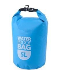 Αδιάβροχος σάκος παραλίας 5L Μπλε - Waterproof Dry Bag ΟEM