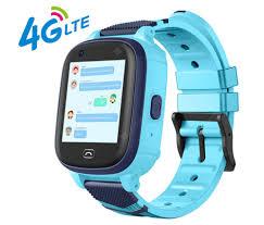 Παιδικό αδιάβροχο smartwatch A60 με δυνατότητα video κλήσης και κουμπί SOS- ΜΠΛΕ