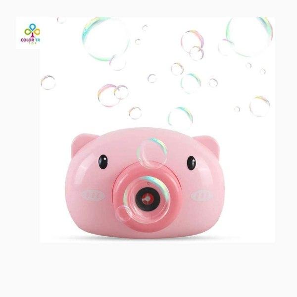 Bubble camera - γουρουνάκι ροζ