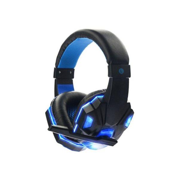 Ακουστικά SOYTO gaming headset stereo headphones with microphone LED light SY850MV - Blue
