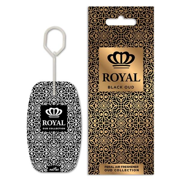 Αρωματικό αυτοκινήτου κρεμαστό feral royal collection black oud