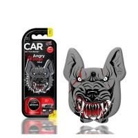 Αρωματικό αυτοκινήτου κρεμαστό aroma angry dogs pitbull new car