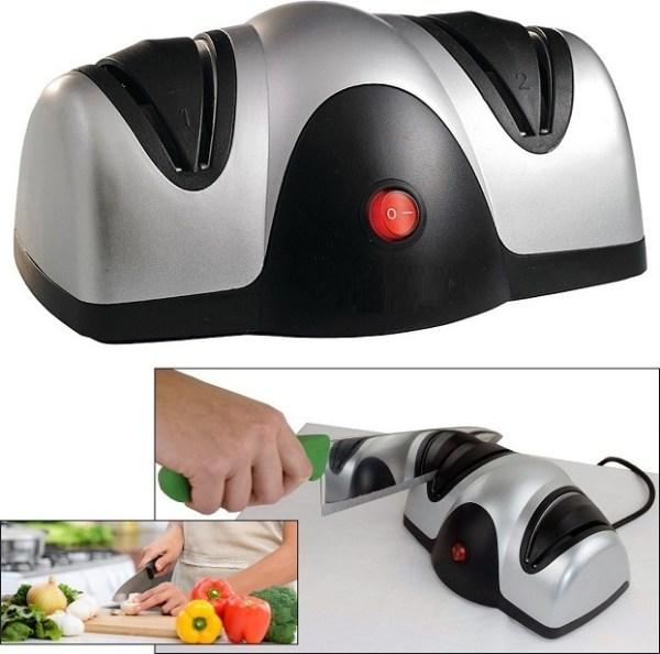 Ηλεκτρικό διπλό ακονιστήρι για μαχαίρια ψαλίδια και εργαλεία