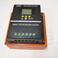 Ρυθμιστής φόρτισης μπαταριών 100A για φωτοβολταϊκά 24V