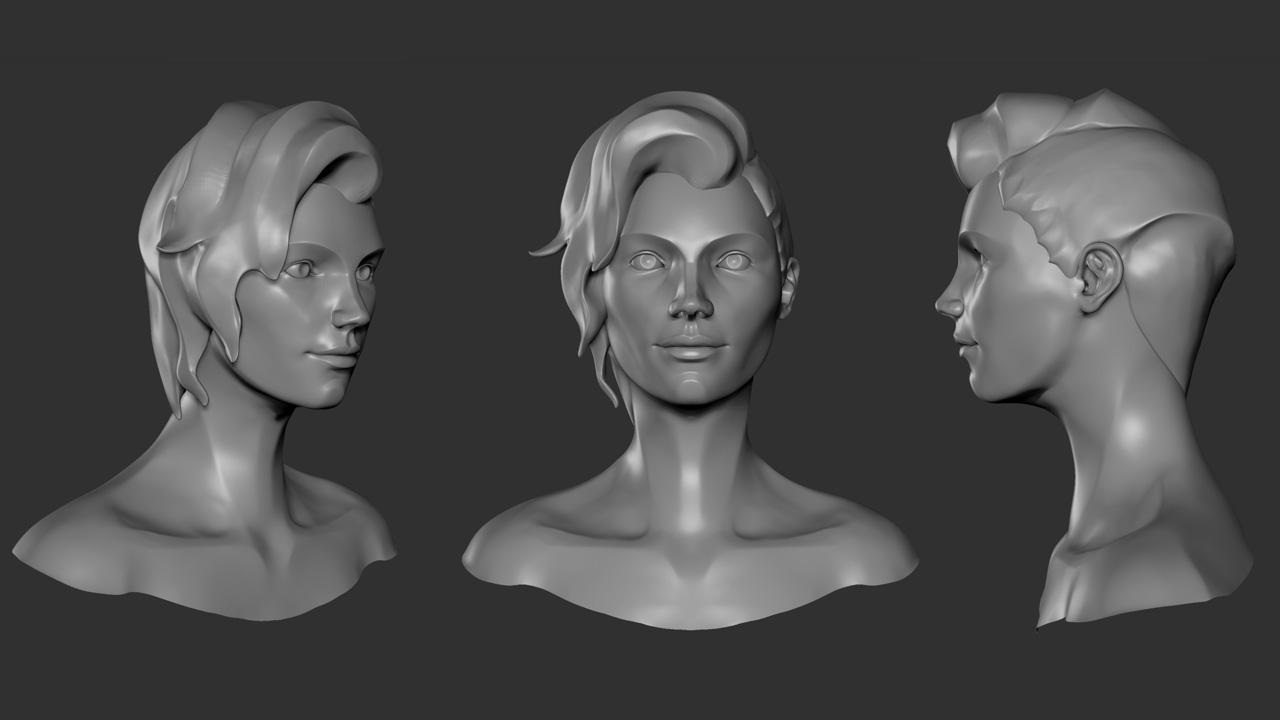 Speedsculpt Character Concepts Tapani Heikkinen