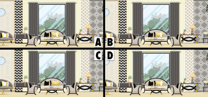 spot the difference interior design answers
