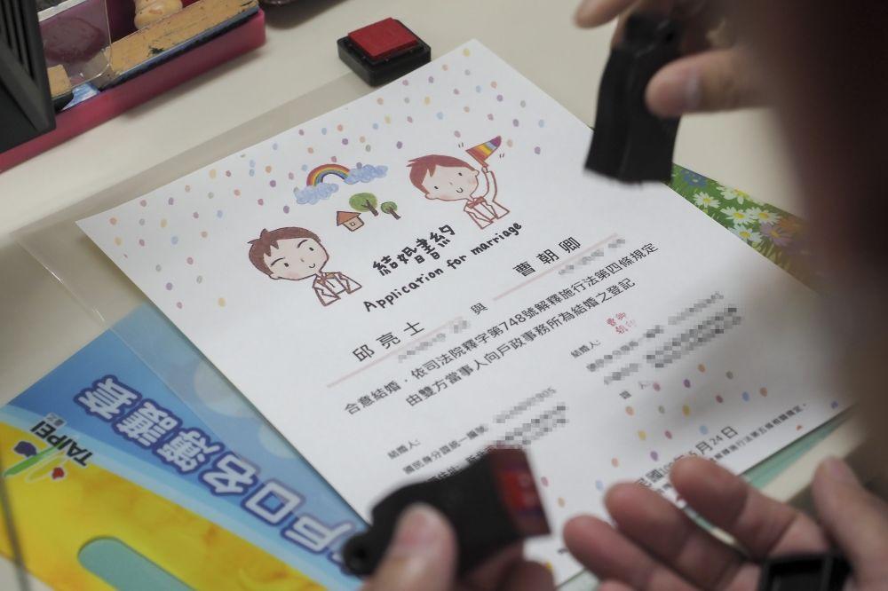 臺灣伴侶權益推動聯盟 TAPCPR – 【同婚除bug】還沒有英文版證書… 中港澳伴侶登記「努力中」