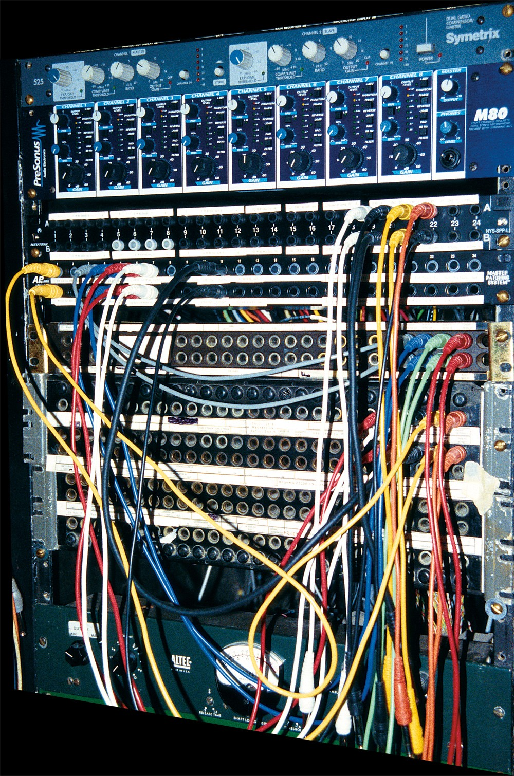 medium resolution of the basics of patchbays patchbay basics tape op magazine patch panel layout audio patch panel wiring diagram