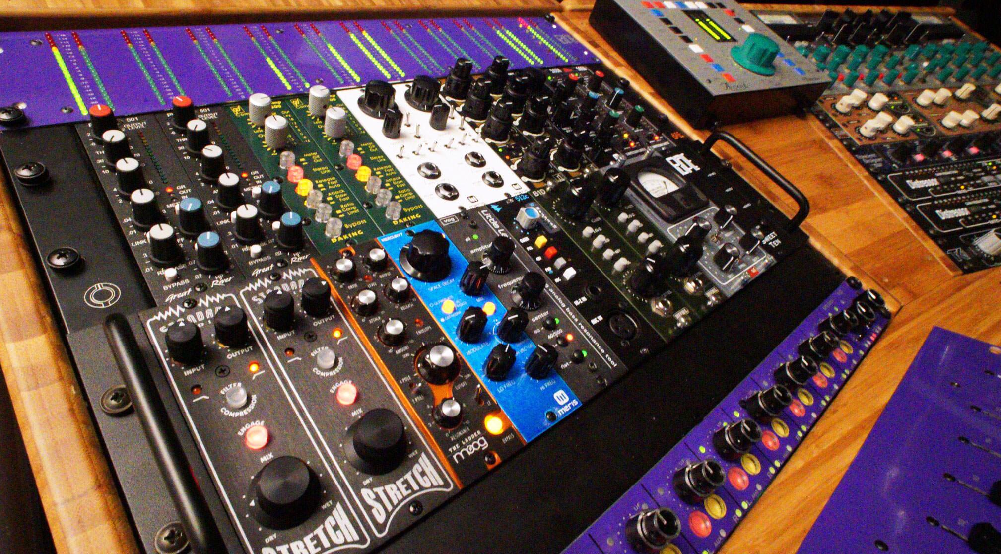 Purple Audio MFTwenty5 Modular Console  Tape Op Magazine