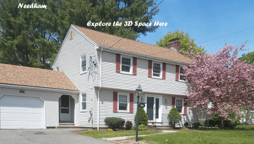 A 3D Tour of 511 Central Ave in Needham