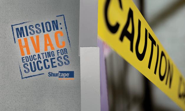 Mission: HVAC 2016 – Challenge Nine: Safety First