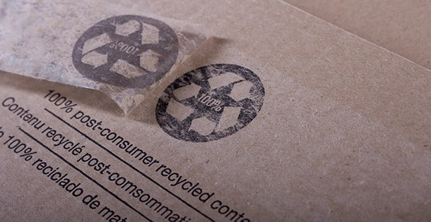 Why won't packaging tape stick to recycled boxes?