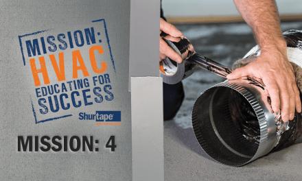 Mission: HVAC 2017 – Challenge 4: Reflective Insulation