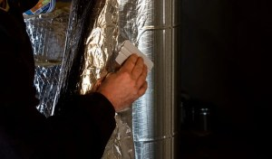 why does tape often fail on reflective insulation