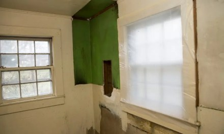 How are abatement tapes used for mold remediation?