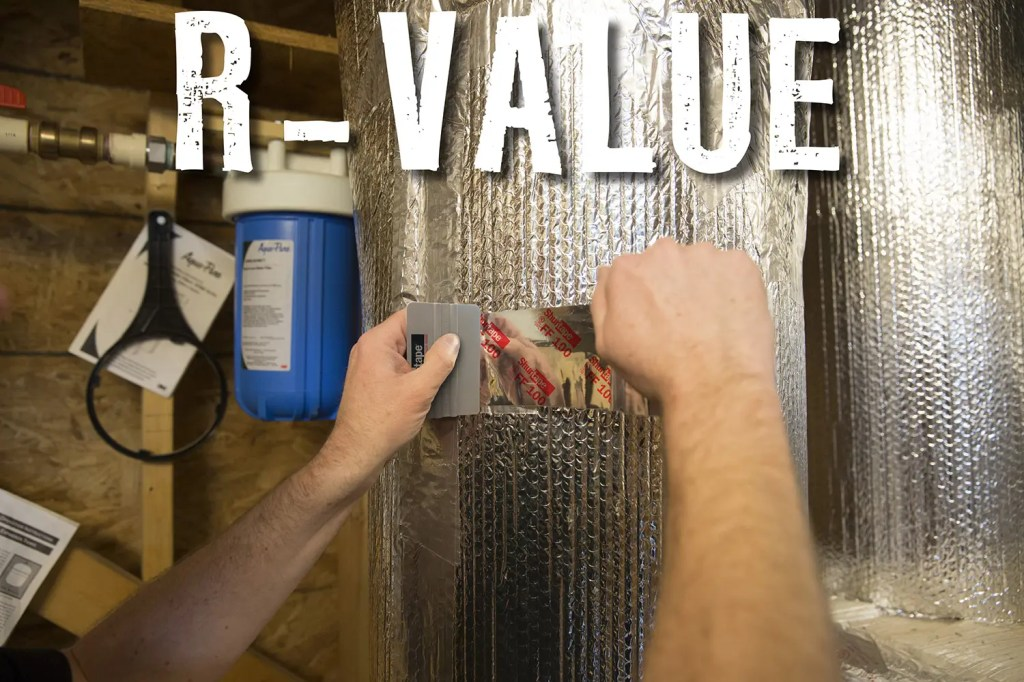 what is the r-value in reflective insulation